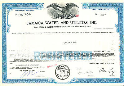 Jamaica Water & Ulities, Inc. 1972