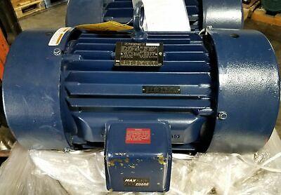 New Marathon 60 Hp 3 Phase Blue Max Vfd Pwm Shaftless Motor  230460 Nh256thfn
