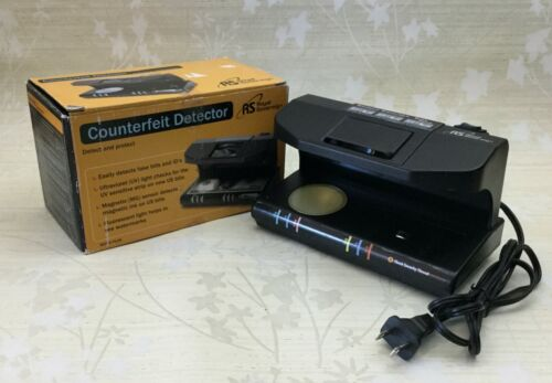 Royal Sovereign Counterfeit Detector RCD-3 Ultraviolet Magnetic ink Watermark