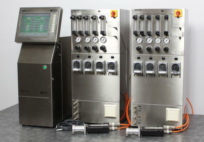Sartorius BIOSTAT DCU Control Tower w/ 2 B-DCU Supply Towers Bioreactor