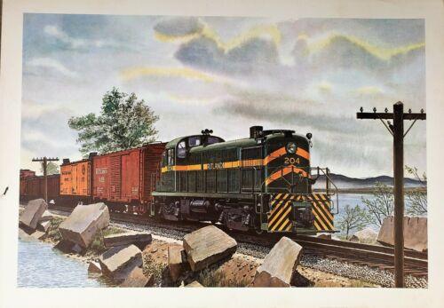 Rutland Railroad RS3 #204 by Howard Fogg.