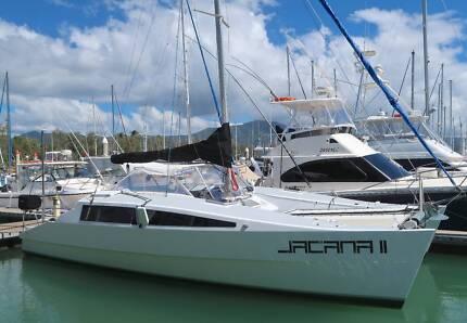 Simpson Woodwind 9.1m Catamaran