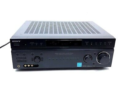 Sony STR-DE898 7.1-Channel A/V Surround Sound Receiver No Remote Works Tested