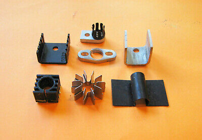 Transistor Heat Sinks Qty Of 7 Different Types