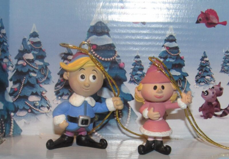 Rudolph The Red Nosed Reindeer Hermey the Elf and His Girl Friend