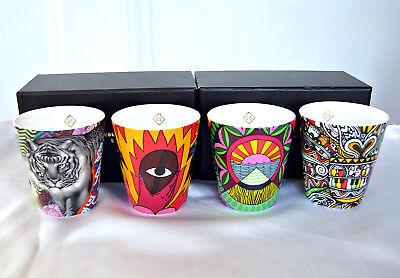 LOT 4 NEW Starbucks COFFEE STORIES Demi ARTISTS CUPS + 1 Tristan TIGER Gift Card Artists Originals Coffee