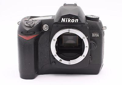 Nikon D D70s 6.1 Mp Digital SLR Kamera - Schwarz (nur Body) Kamera Nikon D70s