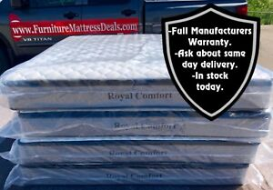 """NEW Full Double 54""""x74""""x10"""" Thick Pillow Top Mattress only $300"""