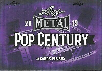 2019 Leaf Metal Pop Century Factory Sealed Box 4 HITS SFC