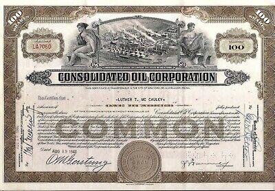 El Dorado Pipe Line /> 1940 Louisiana oil stock certificate share Shreveport