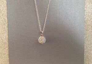 Silver necklace, brand new