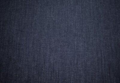 "Indigo Denim 2 Way Stretch Fabric Cotton Spandex Apparel Jegging 43""W"