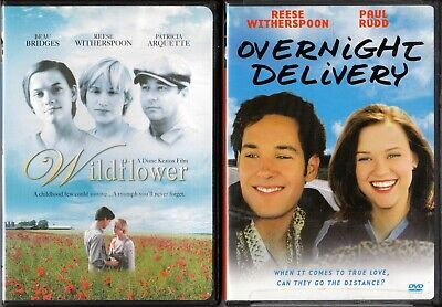 Overnight Delivery Movie (Overnight Delivery ( with insert) & Wildflower Reese Witherspoon DVDs)