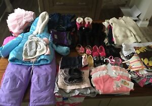 Baby Girls Clothing and Shoes LOT - 3 Months to 2T