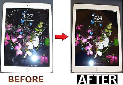 Apple iPad Air 2 LCD Digitizer Glass Screen Replacement Repair Service FAST!!!!!