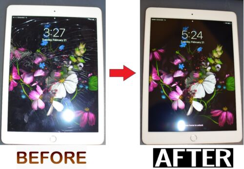 Apple Ipad Air 2 Lcd Digitizer Glass Screen Replacement Repair Service Fast!!!