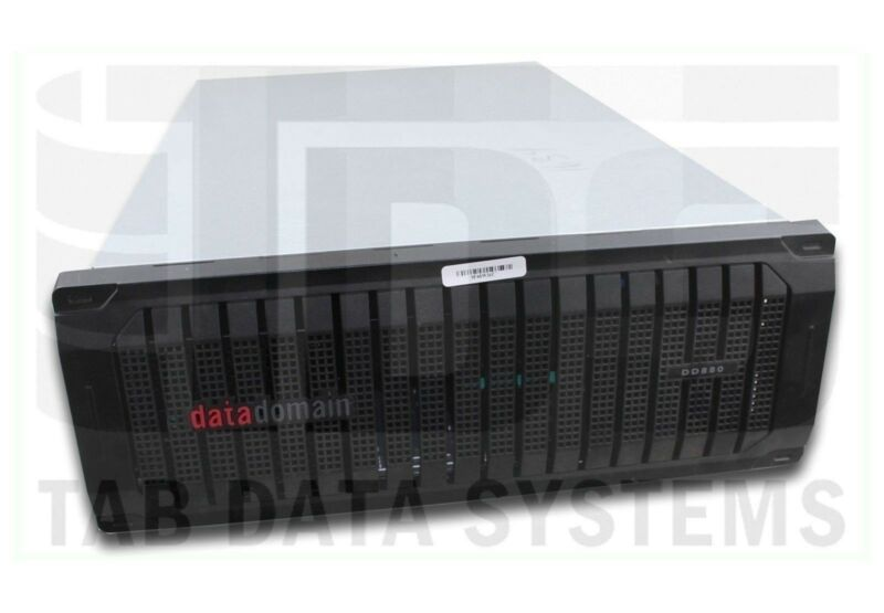 "Emc Data Domain Dd880 Deduplication System W/ 4x 300gb 10k 2.5"" Sata Hdd"