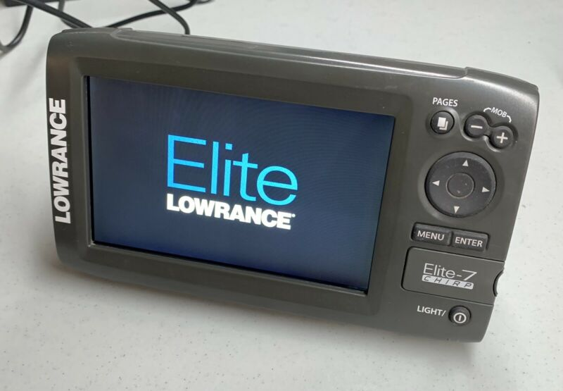 Lowrance Elite 7 Chirp Fish Finder Includes PC-30-RS422 Cable