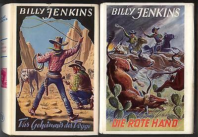 Billy Jenkins Leihbücher 5 x  mit SU guter / sehr  Zustand Uta-Verlag 50er Jahre