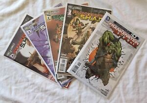 FRANKENSTEIN AGENT OF S.H.A.D.E. COMPLETE COMIC RUN + EXTRAS