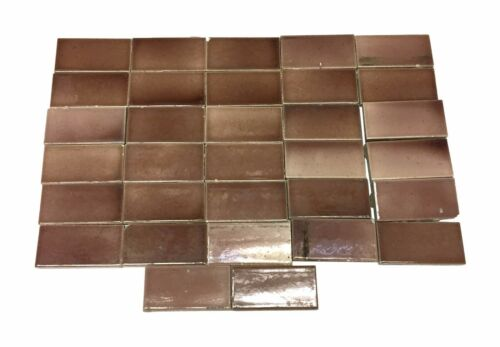 Set of Gradient Brown 4.25 in. Tiles
