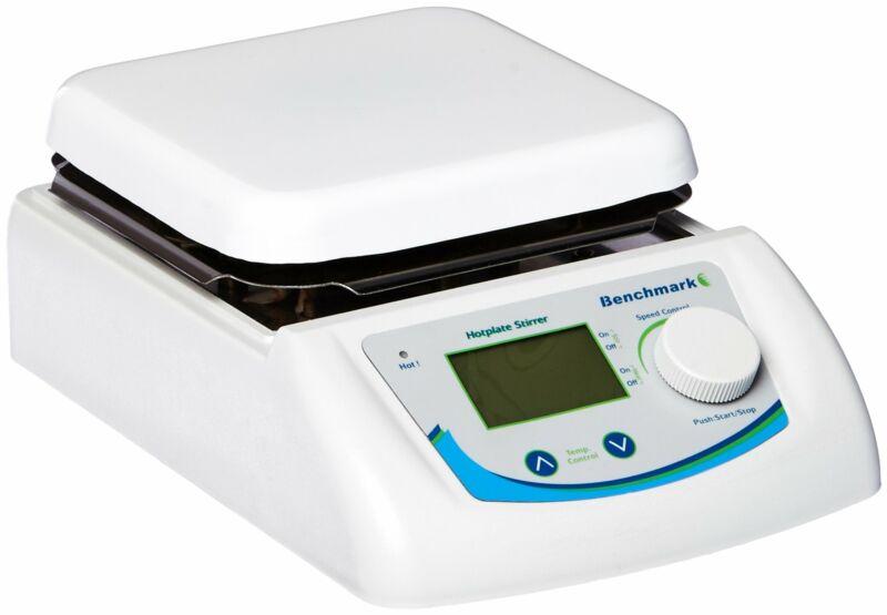 """Benchmark Scientific H3760-HS Digital Hotplate and Stirrer, 6.5"""" x 6.5"""", 115V"""