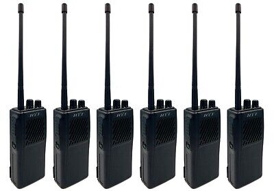 HYT TC-366 PMR446 WALKIE-TALKIE TWO WAY RADIOS WITH COVERT EARPIECES x 6