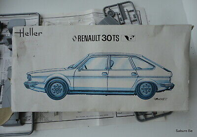 Heller Junior 1/43  Renault 30  TS 196