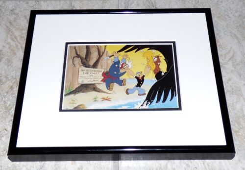 POPEYE THE SAILOR MEETS SINBAD FRAMED MYRON WALDMAN CEL PROMO CARD