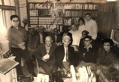 RARE!!! HISTORIC JAZZ PHOTO FROM THE 1960's JAPAN TOUR SIGNED By George Lewis!