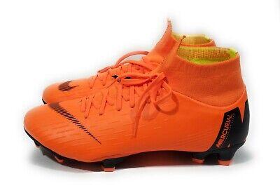 d80e2609fafc Nike Mercurial Superfly 6 Pro FG Mens Soccer Cleats Orange Black Size 8