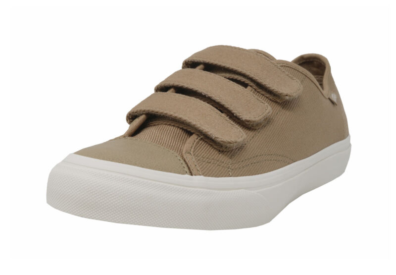 VANS Prison Issue Cornstalk Sand Beige Twill Adjustable Strap Sneakers Men Shoes