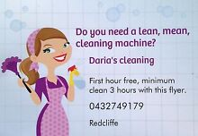 Daria's cleaning Redcliffe Redcliffe Area Preview