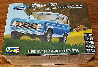 Revell Monogram 1966 Ford Bronco Plastic Model Kit 1/25