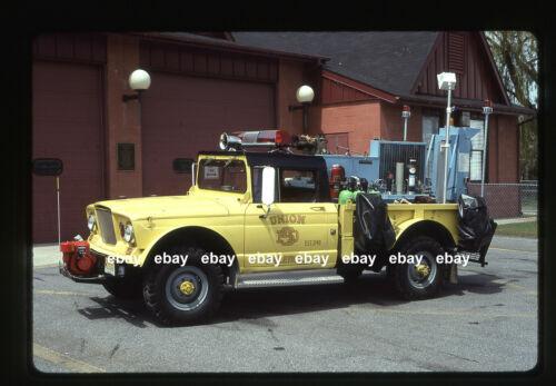 Salem NJ Air Cascade 1969 Kaiser Jeep Wagon Fire Apparatus Slide