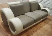 LUXURY ITALIAN LEATHER LOUNGE Newport Pittwater Area Preview