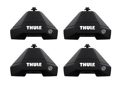 THULE 7105 Evo Clamp Fußsatz für Fahrzeuge ohne Dachanbindung - 4 Füße