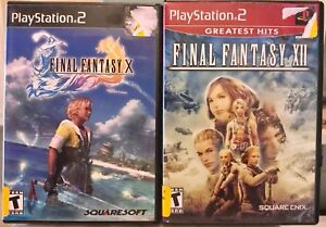 PS2 Final Fantasy X & XII