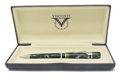Visconti Ragtime Collection Green Wood Ballpoint Pen  New In Box   561SF10