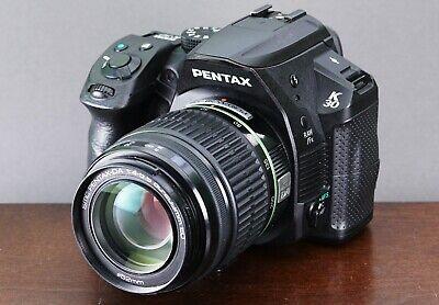 PENTAX Pentax K K-30 16.3MP Digital SLR Camera - Black w/50-200mm Lens