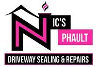 NIC'S PHAULT DRIVEWAY SEALING & REPAIRS 9029997552!!