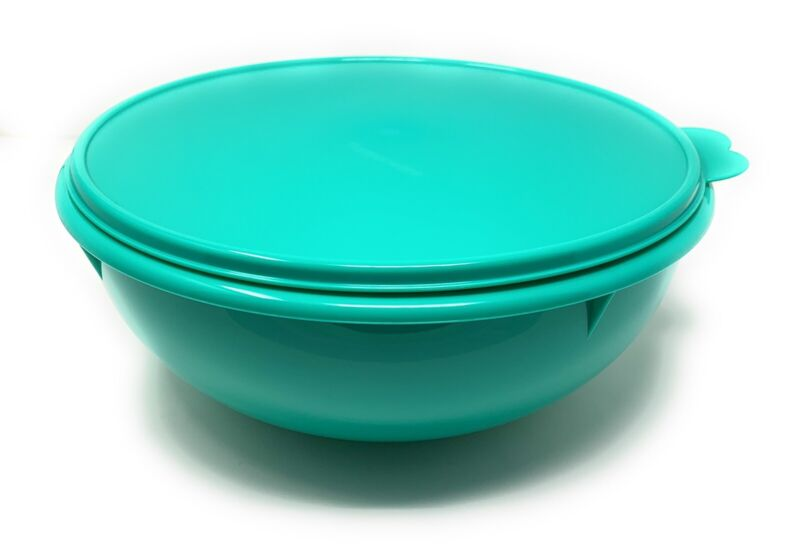 Tupperware Bowl Fix N Mix 26 Cup Toucan Teal NEW