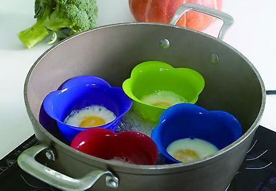 Pochierte Eier 4er Set Auflaufform für Eier Muffin, Kuchen oder Souffle lecker