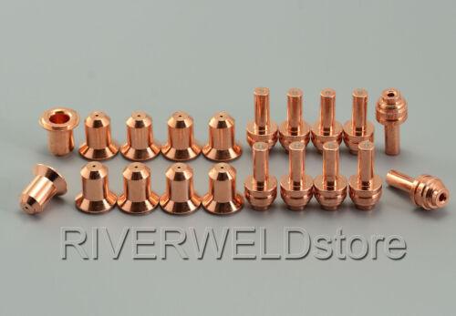 176655 Plasma Electrodes 176656 25A Plasma Tips Fit Miller ICE-25C Torch 20pk