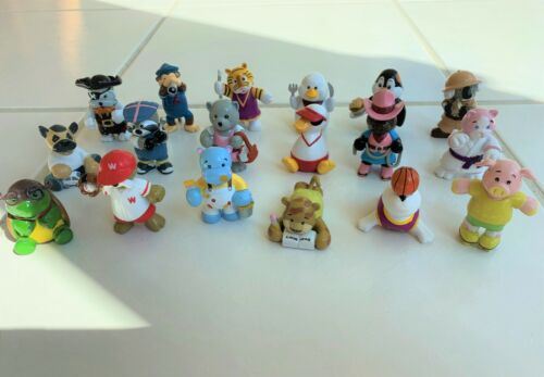 Lot of 18 Loose Webkinz PVC Figures Cake Toppers Favors No Codes NEW Great!