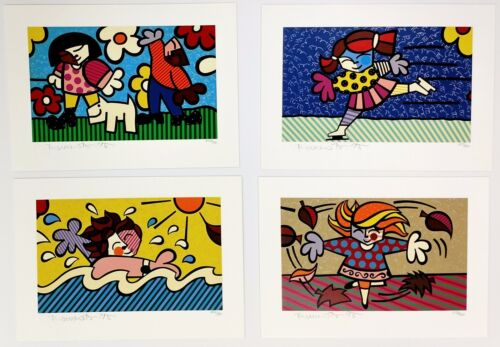 "Romero Britto ""seasons Of Miracles"" 