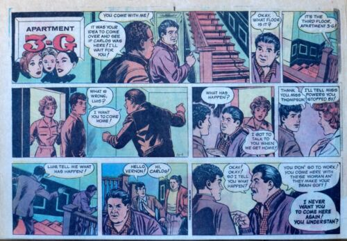 Apartment 3-G by Alex Kotzky - large half-page color Sunday comic, Oct. 1, 1978
