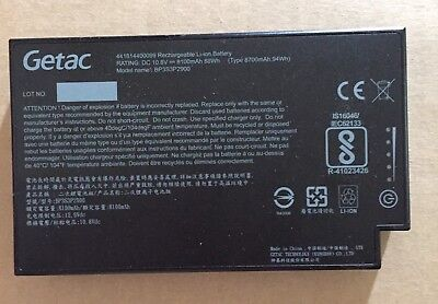GETAC B300 LITHIUMION RECHARGEABLE BATTERY 8100mAh
