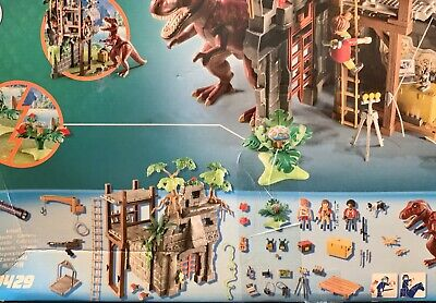 Playmobil T-Rex With Hidden Temple And Figures And Sound 9429
