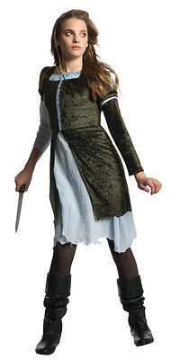 Tween Snow White Costume (JRS Girl SNOW WHITE Huntsman Costume Dress + Legging Pants Teen Tween Medium 2)